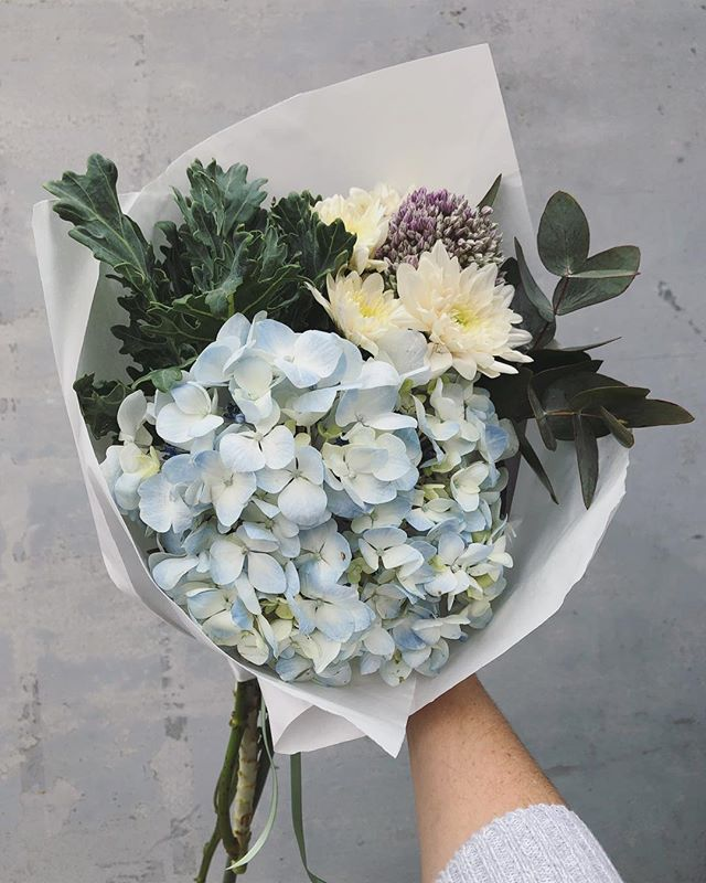 Today's Posy is hydrangeas with frilly kale, sprays and penny gum. Order online before 12:30pm for delivery today. #Petalandpost#capetown#capetownflorist#lovezabuyza#localzadesign#lovelocalza#hellopretty#capetownmag#cylcollective #capetownlikes#supportlocal#posylove#wedding#local#botanical#theprettyblog#gardenday#capetowninfo#handmadeincapetown#madeinsouthafrica#lokalza#durbanville#proudlysouthafrican
